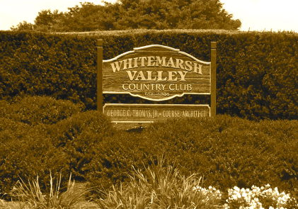 The Whitemarsh Valley Country Club. Credit: Mischa Arnosky (PlymouthWhitemarshPatch.com)
