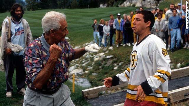 Fight between 2 golfers on Western PA course lead to hospital visits...reminiscent of the fight between Bob Barker and Happy Gilmore!